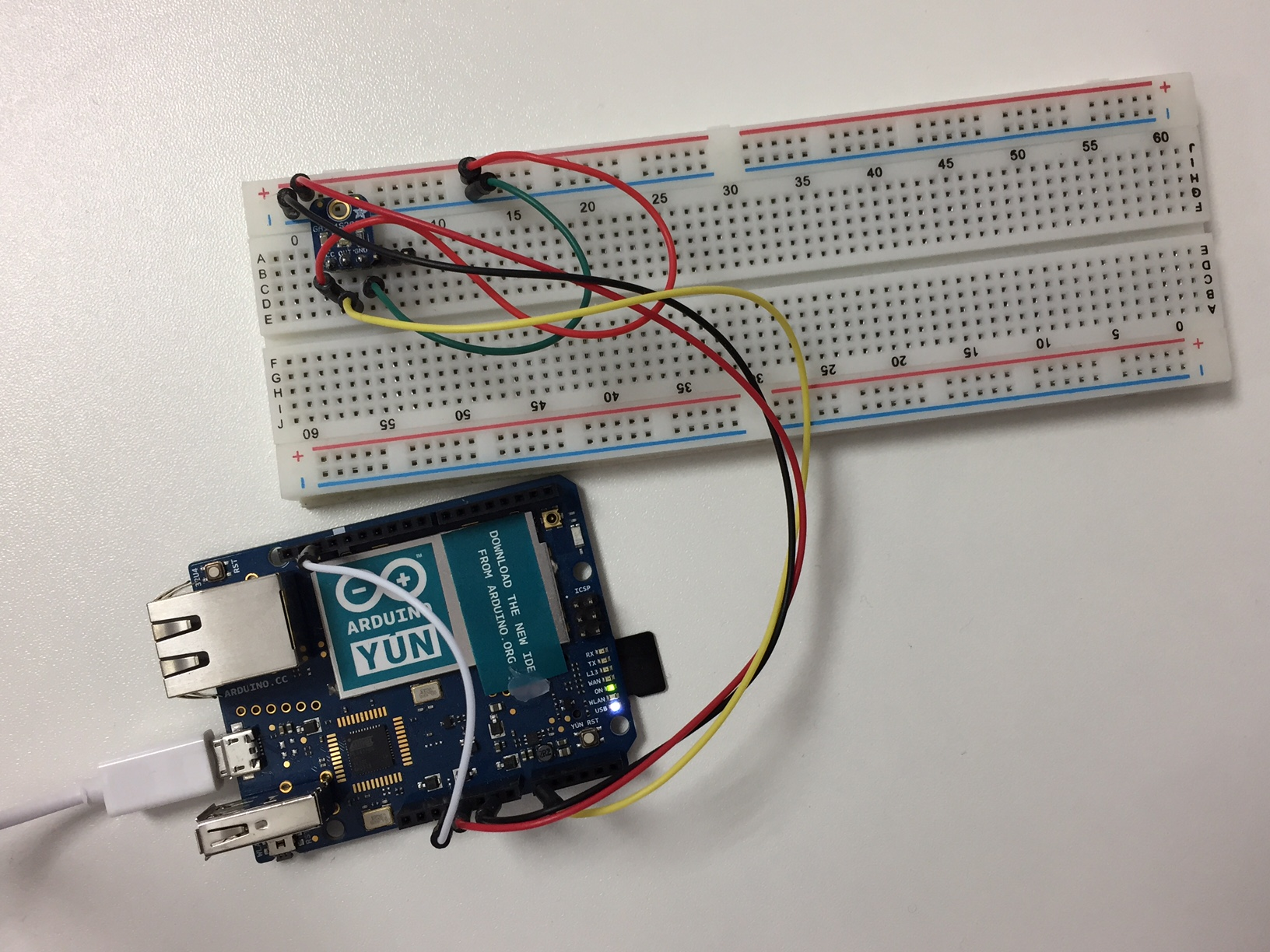 Sending Data From An Arduino To The Cloud Using Json And Mqtt Simple Water Level Indicator Numeric Circuit